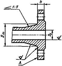 Конструкция фланца ГОСТ 12819-80