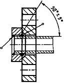 Конструкция фланца ГОСТ 12822-80. Для Ру от 1,6 до 2,5 МПа