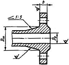 Конструкция фланца ГОСТ 12817-80