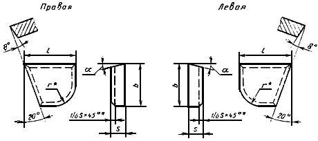 ГОСТ 25397-90 Пластины твердосплавные напаиваемые типов 06, 66. Конструкция и размеры
