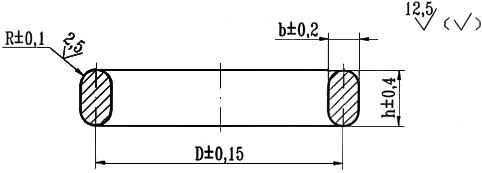 ОСТ 26.260.461-99 Прокладки овального и восьмиугольного сечения стальные для фланцев арматуры. Конструкция, размеры и общие технические требования (с Изменениями N 1, 2)