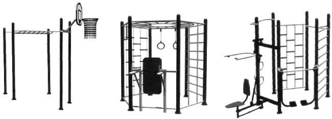 ГОСТ Р 55678-2013 Оборудование детских спортивных площадок. Безопасность конструкции и методы испытаний спортивно-развивающего оборудования