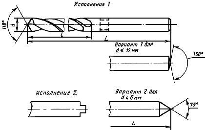 ГОСТ 886-77 Сверла спиральные с цилиндрическим хвостовиком. Длинная серия. Основные размеры (с Изменениями N 1, 2)