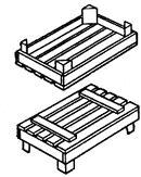ГОСТ 2991-85 Ящики дощатые неразборные для грузов массой до 500 кг. Общие технические условия (с Изменениями N 1, 2)