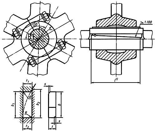 ГОСТ 24069-97 (ИСО 3117-77) Основные нормы взаимозаменяемости. Тангенциальные шпонки и шпоночные пазы
