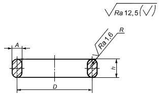 ГОСТ Р 53561-2009 Арматура трубопроводная. Прокладки овального, восьмиугольного сечения, линзовые стальные для фланцев арматуры. Конструкция, размеры и общие технические требования (с Поправками, с Изменением N 1)