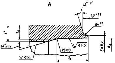 СТО ЦКТИ 321.03-2009 Отводы крутоизогнутые для трубопроводов пара и горячей воды тепловых станций. Конструкция и размеры (с Изменением N 1)