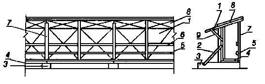 ГОСТ 23407-78 Ограждения инвентарные строительных площадок и участков производства строительно-монтажных работ. Технические условия
