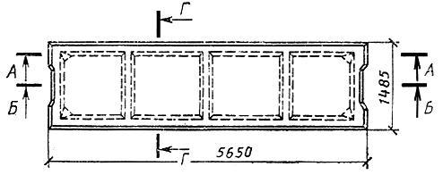 ГОСТ 21506-87 Плиты перекрытий железобетонные ребристые высотой 300 мм для зданий и сооружений. Технические условия