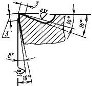 ГОСТ 18868-73 Резцы токарные проходные отогнутые с пластинами из быстрорежущей стали. Конструкция и размеры (с Изменением N 1)
