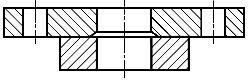 Конструкция фланца ГОСТ Р 54432-2011. Тип 02. Фланец стальной свободный на приварном кольце