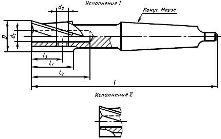 ГОСТ 26258-87 Цековки цилиндрические для обработки опорных поверхностей под крепежные детали. Технические условия