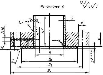 ГОСТ 28759.2-90 Фланцы сосудов и аппаратов стальные плоские приварные. Конструкция и размеры