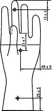 ГОСТ Р 52238-2004 (ИСО 10282:2002) Перчатки хирургические из каучукового латекса стерильные одноразовые. Спецификация (с Изменением N 1)