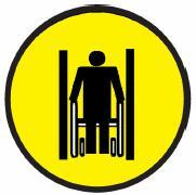 ГОСТ Р 52131-2003 Средства отображения информации знаковые для инвалидов. Таблички и наклейки), технические требования