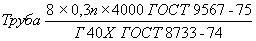 ГОСТ 9567-75 Трубы стальные прецизионные. Сортамент (с Изменениями N 1, 2)