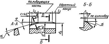 ГОСТ 1672-80 (ИСО 521-75, ИСО 2402-72) Развертки машинные цельные. Типы, параметры и размеры (с Изменениями N 1, 2, с Поправкой)
