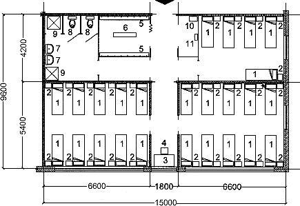СП 142.13330.2012 Здания центров ресоциализации. Правила проектирования. Актуализированная редакция СП 35-107-2003 (с Изменением N 1)