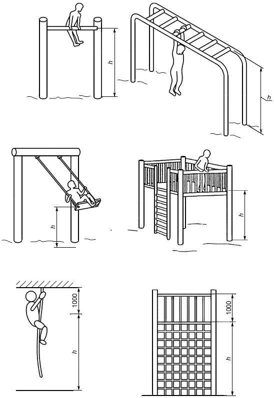 ГОСТ Р 52169-2012 Оборудование и покрытия детских игровых площадок. Безопасность конструкции и методы испытаний. Общие требования