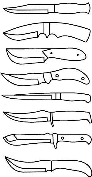 ГОСТ Р 51644-2000 Ножи разделочные и шкуросъемные. Общие технические условия (с Изменением N 1)