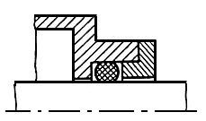 ГОСТ 9833-73 Кольца резиновые уплотнительные круглого сечения для гидравлических и пневматических устройств. Конструкция и размеры (с Изменениями N 1, 2, 3)