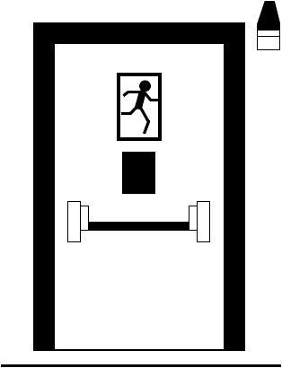 ГОСТ 31471-2011 Устройства экстренного открывания дверей эвакуационных и аварийных выходов. Технические условия
