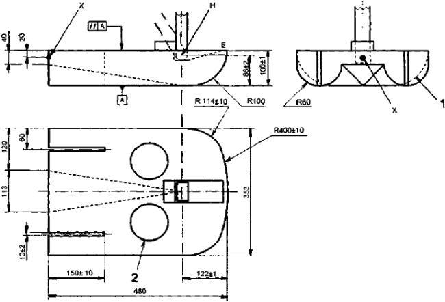ГОСТ Р ИСО 7176-7-2015 Кресла-коляски. Часть 7. Измерение размеров сиденья и колеса